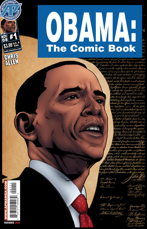 Obama the Comic Book By:Chris Allen