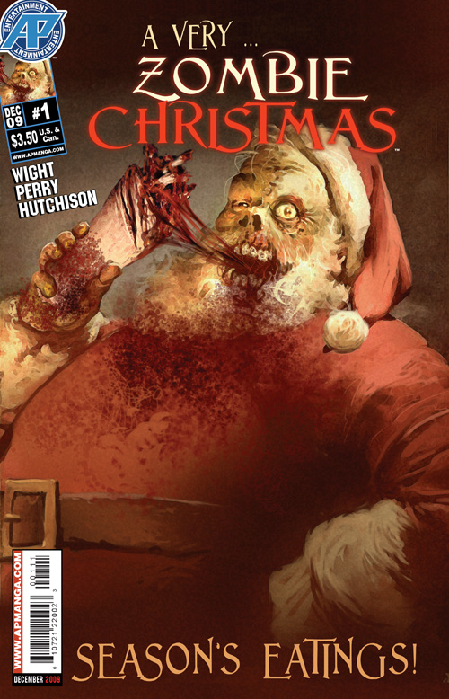 A Very Zombie Christmas By:Joe Wight, Fred Perry, David Hutchison