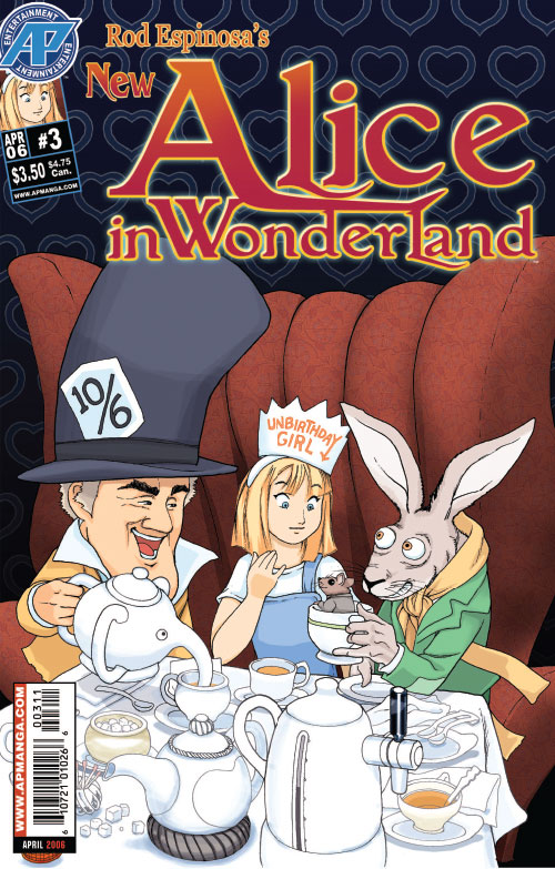 New Alice in Wonderland|By:Rod Espinosa